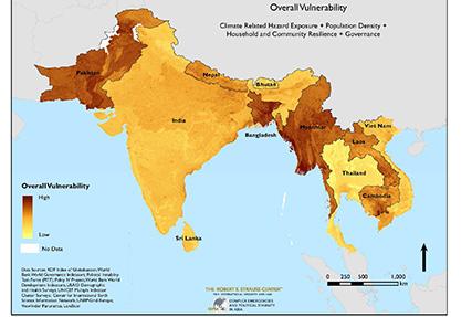 Vulnerability in South Asia